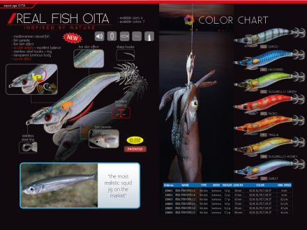 калмарка DTD Real Fish Oita