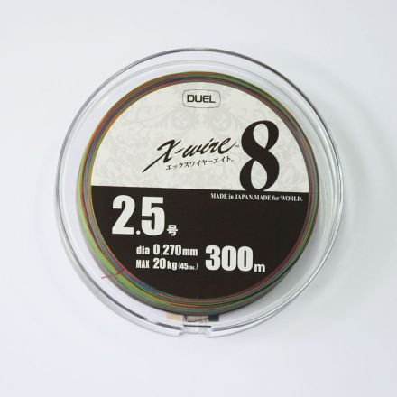 duel X-Wire 8 5color 300 м