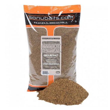 Захранка Sonubaits Maggot Fishmeal Groundbait