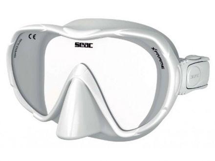Силиконова маска Seac Sub X-Frame EVO (бял силикон)