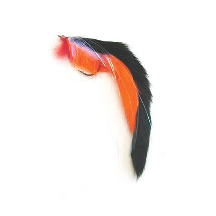 Fly Black & Orange Double Bunny