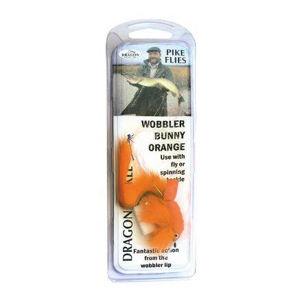 муха английска Pike Wobbler Orange