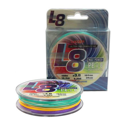 lazer PE Braid L8 Multicolour