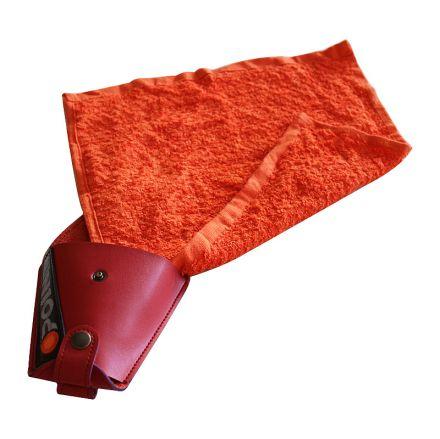 кобур с кърпа от естествена кожа Orange Point HT - SL1