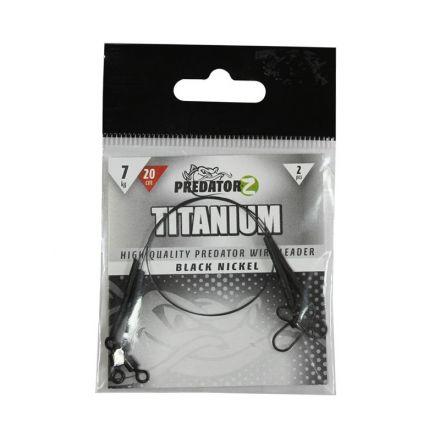повод Predator-Z Titanium Wire Leader30