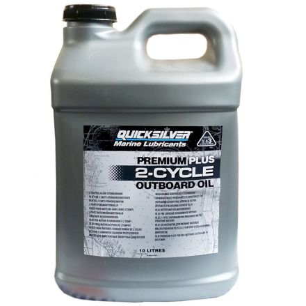 Quicksilver Premium Plus 2-Cycle Oil 10L