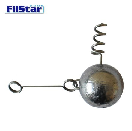 Filstar Round jig head with spring