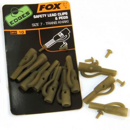 Монтаж Fox Edges Safety lead clip + pegs