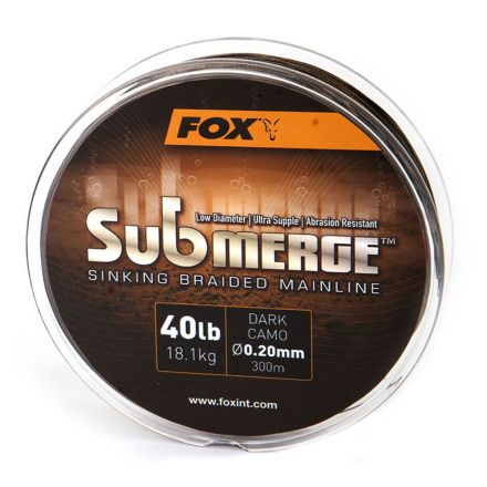 Fox Submerge Braid Dark Camo 600