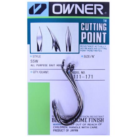 куки Owner SSW Cutting Point Hooks 5111