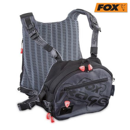 fox Rage Voyager tackle vest & 2 box