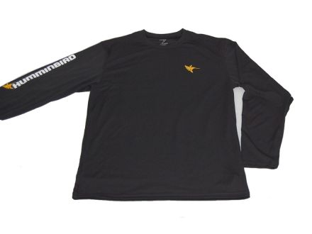 Humminbird Long Sleeve Performance Tee-Black
