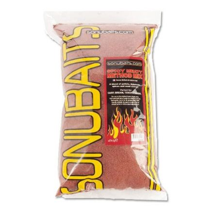 sonubaits Spicy Meaty Method Mix