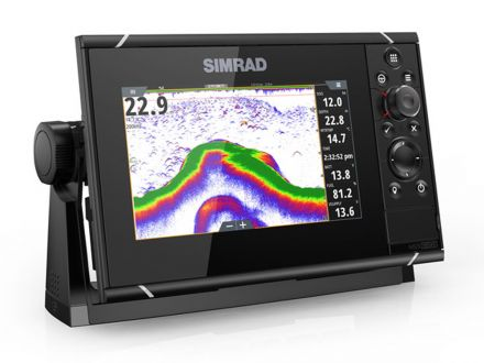 SIMRAD NSS7 evo3 with Insight charts & Broadband Radar