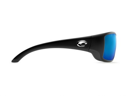 Sunglasses Costa Blackfin - Black - Blue Mirror 580G