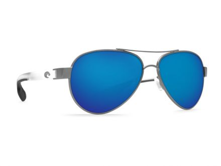 Sunglasses Costa Loreto - Gunmetal w/Crystal - Blue Mirror 580G