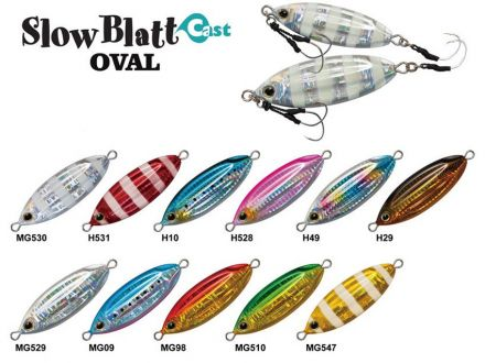 ZetZ Slow Blatt CAST Oval 40
