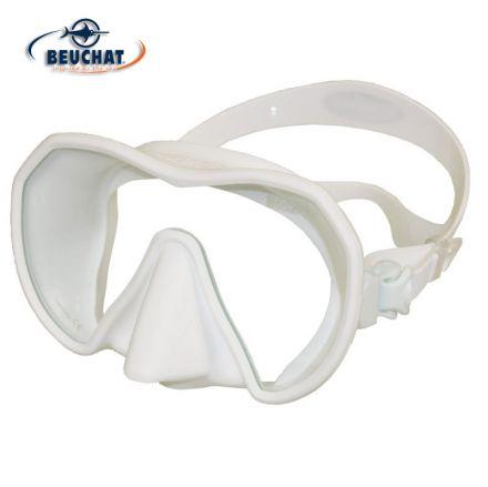 Силиконова маска Beuchat MaxLux S (бяла)
