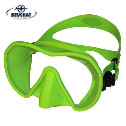 Силиконова маска Beuchat MaxLux S (светло зелена)