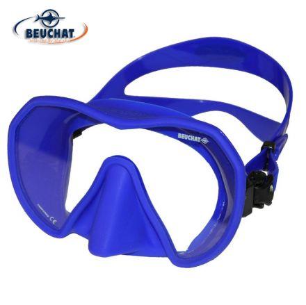 Силиконова маска Beuchat MaxLux S (кралско синьо)