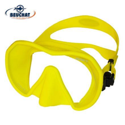 Силиконова маска Beuchat MaxLux S (жълта)
