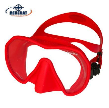 Силиконова маска Beuchat MaxLux S (червена)