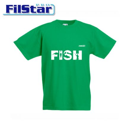 FilStar FISH Children T-Shirt (green)