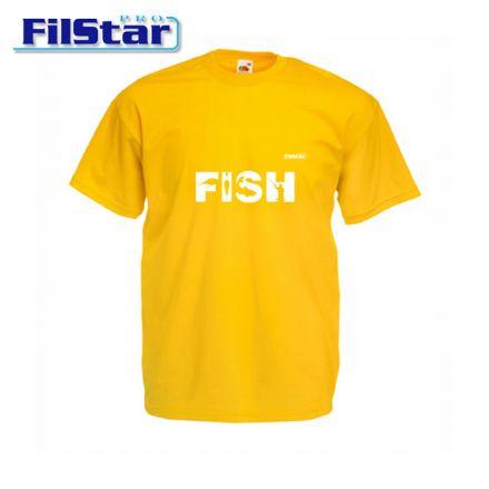 Тениска FilStar FISH Мъжка (жълта)