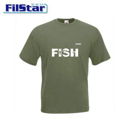 Тениска FilStar FISH Мъжка (зелена)