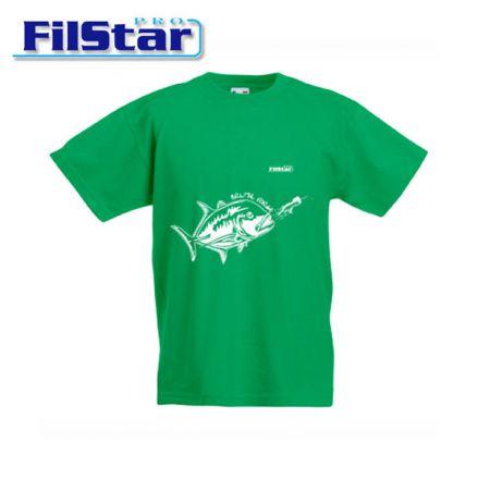 Тениска FilStar GT Детска (зелена)