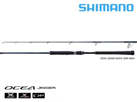 shimano Ocea Jigger Quick Jerk S624