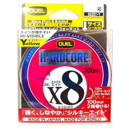 Duel Hardcore X8 PE Yellow 200
