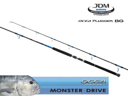 shimano Ocea Plugger BG Monster Drive S86ML