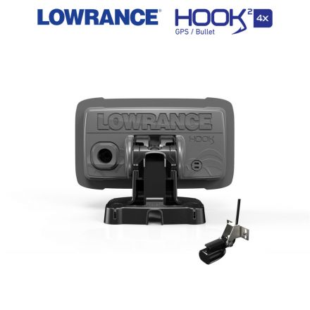 Lowrance HOOK²-4x Bullet Rear