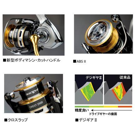 Daiwa 16 Crest 2508H