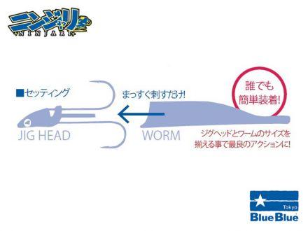 Blue Blue NINJARI