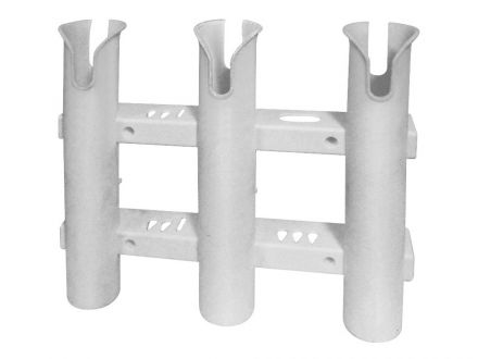 Rod holder 3 rods, wall mount