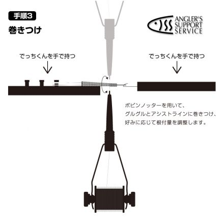 A.S.S. Assist hook tying tool