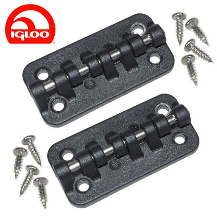 Igloo Hybrid Stainless Steel/Plastic Hinges