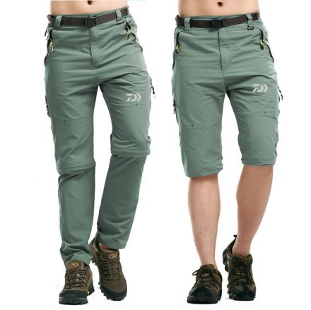 DAIWA Summer Removable Quick Dry Breathable Pants for Men