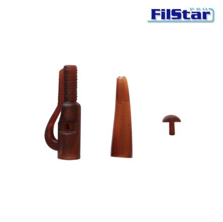 Клипс за олово Filstar Lead Clip With Lock + Tail Rubber