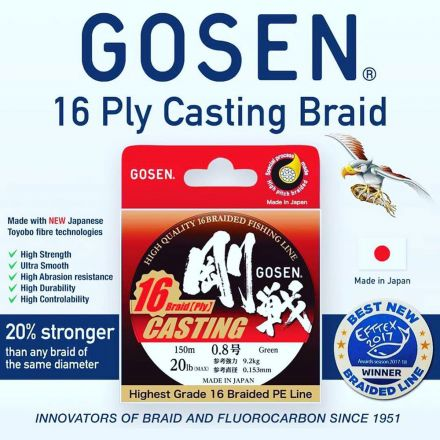 Gosen Casting 16 Braid