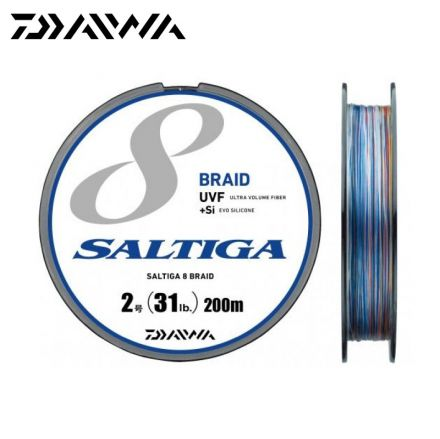 Daiwa Saltiga X8 Braid Multi Color 200m