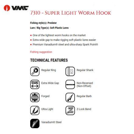 VMC 7310 BN Hooks