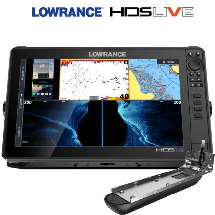 Lowrance HDS 16 LIVE + сонда Active Imaging 3-в-1