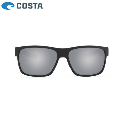 Очила Costa Half Moon - Matte Black - Gray Silver Mirror