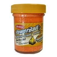 Паста за пъстърва Berkley PowerBait Natural Scent Glitter Garlic