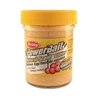 Паста за пъстърва Berkley PowerBait Natural Scent Glitter Salmon Egg