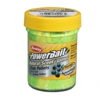 Паста за пъстърва Berkley PowerBait Natural Scent Glitter Fish Pellets