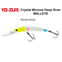 Воблер Yo Zuri Crystal Minnow Deep Diver WALLEYE 110F R1206